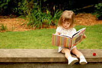 Little reader.